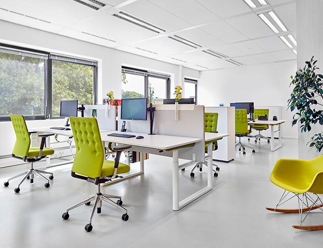 Nieuw: zakelijk Vitra-meubilair leasen
